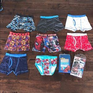 New Boys boxers briefs / brief underwear! Size 6-7